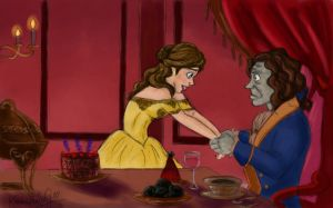 Rumbelle: Tale As Old as Time by TottieWoodstock
