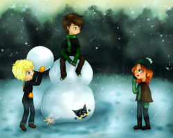 Snow = Snowman [Contest Entry] by AwesomeYay99