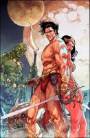 John Carter : Warlord Of Mars #1 Variant Cover by NeerajMenon