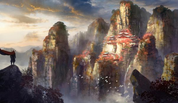 Black Cliff by ZP-ZHANG