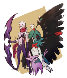 Leauge of Pokemon_Varus by Avenisia