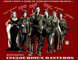 INGLOURIOUS BASTERDS by MalevolentNate