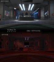 Before N' After: ONI Offices by SWHalo2
