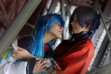 Aoba x Koujaku Cosplay 1 /// DRAMATICAL MURDERER by betweenmyface
