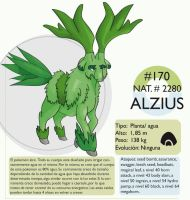 Pokemon Oryu 170 Alzius by shinyscyther