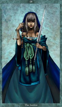 The Justice Tarot by psycho-kitty