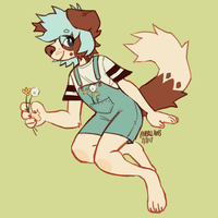 flower boy by paperclawss