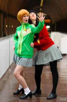 Persona 4: Best Friends by XDoveX