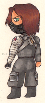 Winter Soldier - tchoupous style by Princess--Kimono