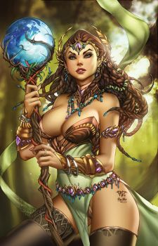 Zenescope GFT #112C, pencils: P. Pantalena by sinhalite