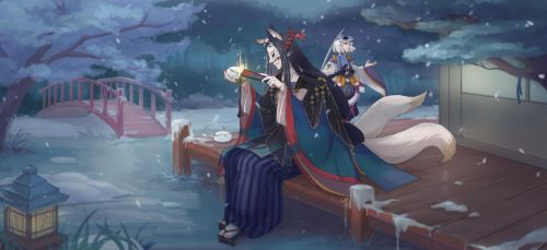 Onmyoji-fan art by RuuE03