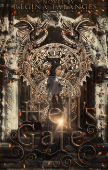 Hell's Gate: Premade cover for Sale by annoyss