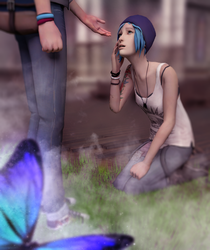 Life is Strange. Max and Chloe by Mary-O-o