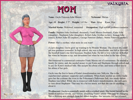Gayle Mason - Mom Character Card by Nathanomir