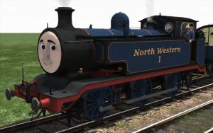 Thomas the tank engine in Train Simulator by bonjourmonami