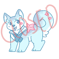 Ocean Shiba Inu Adopt Auction (Closed) by sharkiiies
