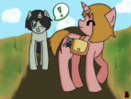 A Stroll With A Friend by CoffeeCats