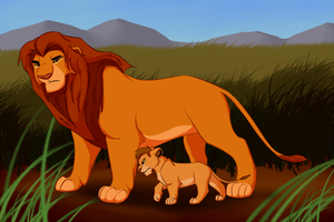 Father and son by ShaggyTramp