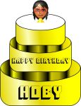 Hoby's Mii Birthday Cake by KStarboy