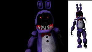 [MMD] FNAF 2 old bonnie finished DOWNLOAD + .OBJ by XHaloMMDArtX