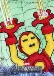 Avengers Assemble - Iron Man by 10th-letter