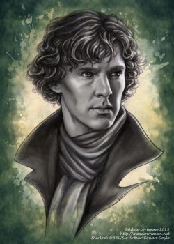 Sherlock by Saimain