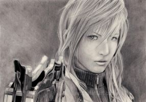 FFXIII - Lightning by Slyer