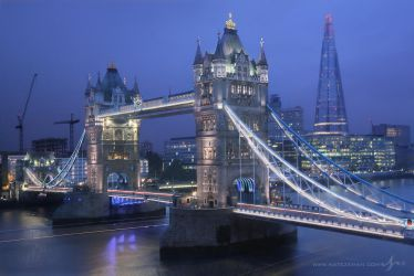 London Twilight by Nate-Zeman