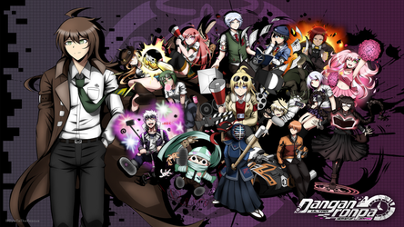 UDR:HoD Cast Cluster Wallpaper - English Version by GyleToTheRescue