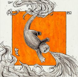 Charmander, Flamethrower! by PedroLajud