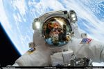 In The Eyes of an Astronaut - Selfie by nomisdice