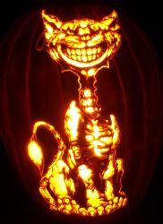 Cheshire Cat by pumpkinsbylisa