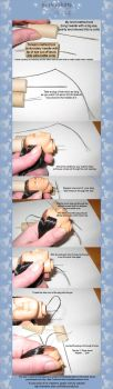 Rerooting a doll tutorial by ReflectionsByIce