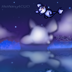 Zzzz...a gift at night by MeMemy4020