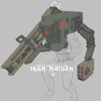 IRON MAIDEN ARMOR by obokhan