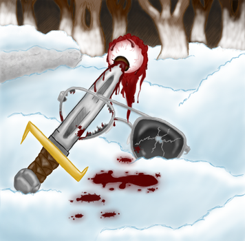 Blood On The Snow by Twitching-Dozi