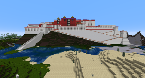Minecraft - Potala Palace by MinecraftArchitect90