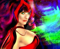 Scarlet Witch by lotus73