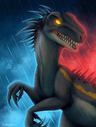 The Indoraptor by Dreaming-Roses