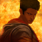 Cool guys don't look at explosions by Shinobka