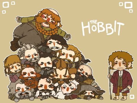 Dwarf Pile by jamknight