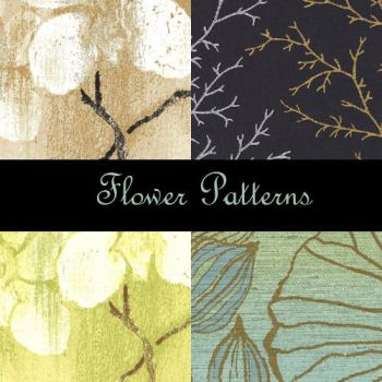 Flower Photoshop Patterns by eMelody