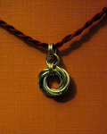 Mobius Pendant by Ginkage