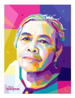 Grand Mother - WPAP by @opparudy by opparudy