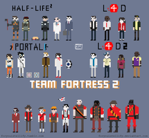 Valve.In.Pixels. by foryouistellify