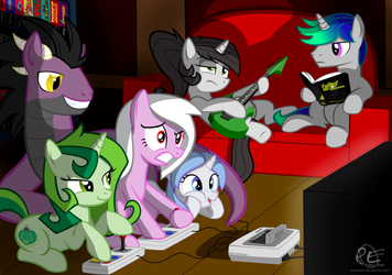 Game Night ~ Contest Entry by PonyEcho