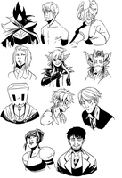 10 Requests by Aluhnim