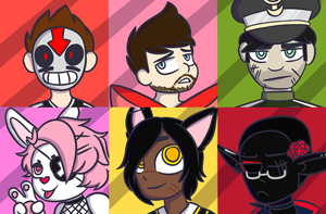 Icon Commission Batch 1 by BIueTay