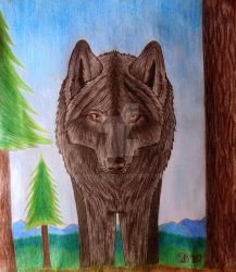 Guardian of the forest by DanyWolf
