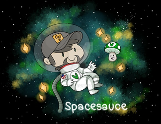 Spacesauce || In space, no one can hear you stream by BITARTZ